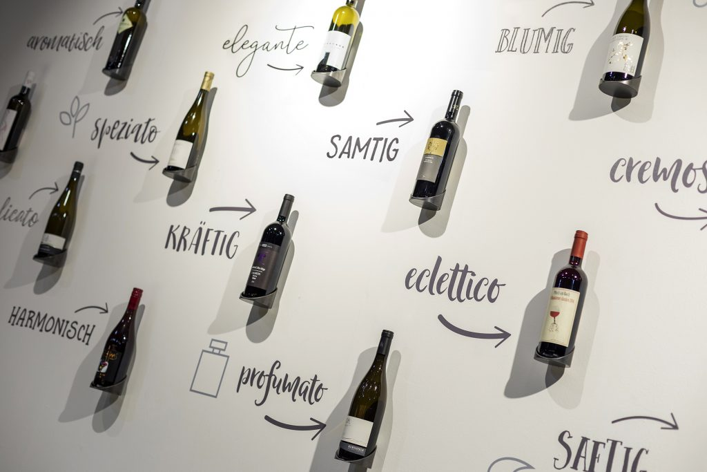 wine booth design