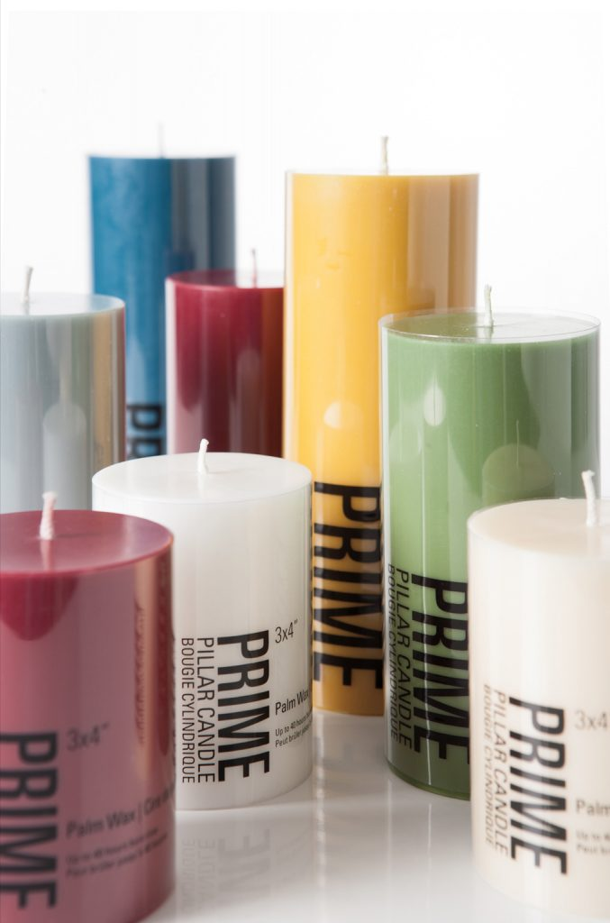 Candle Packaging Design for a Wholesale Company