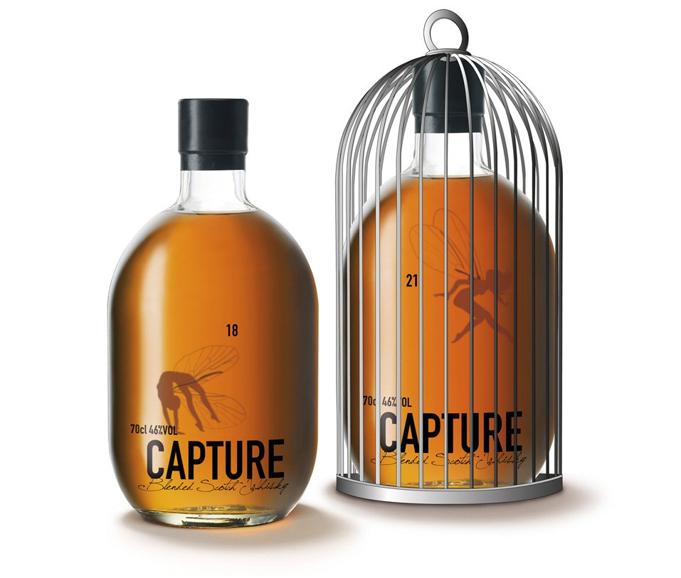 Whisky Bottle Design and Packaging