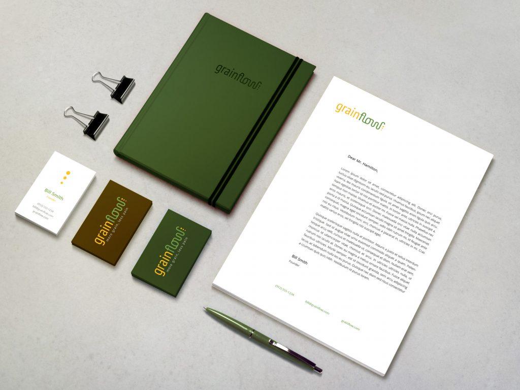 saas logo design and corporate identity