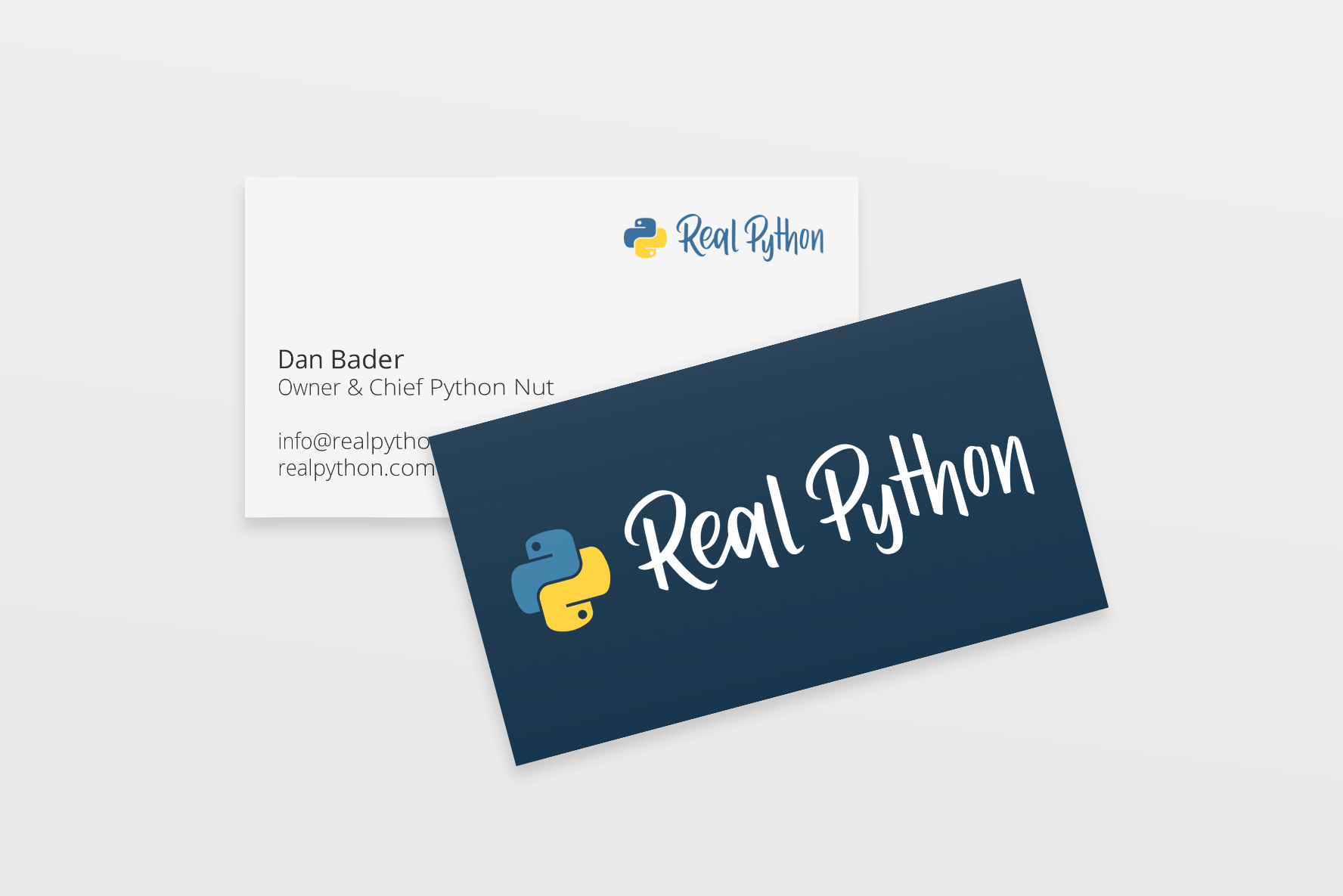 logo redesign business card design