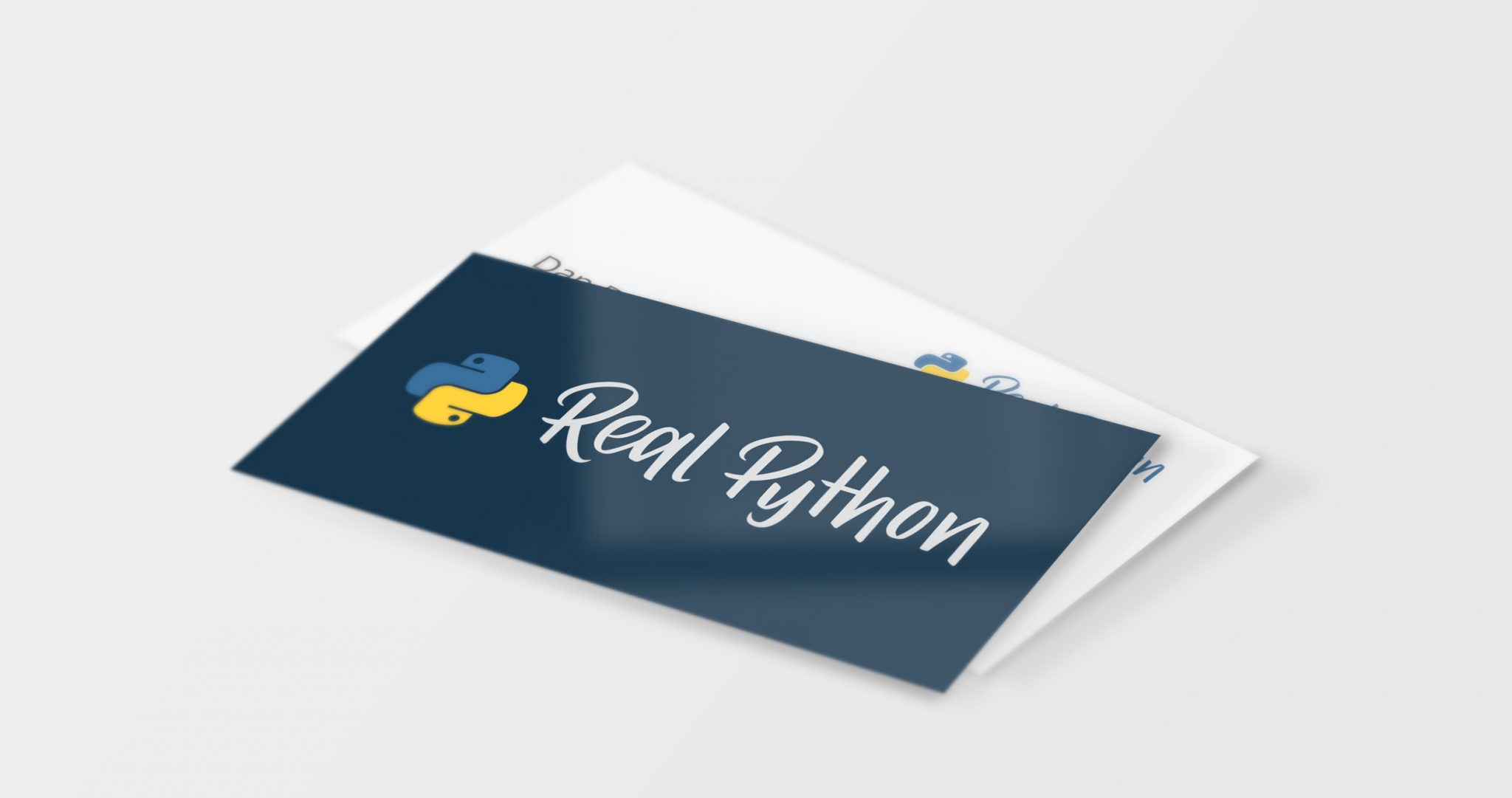 logo redesign business cards