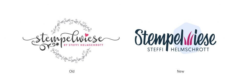 Stampin' Up! Demonstrator Logo Redesign