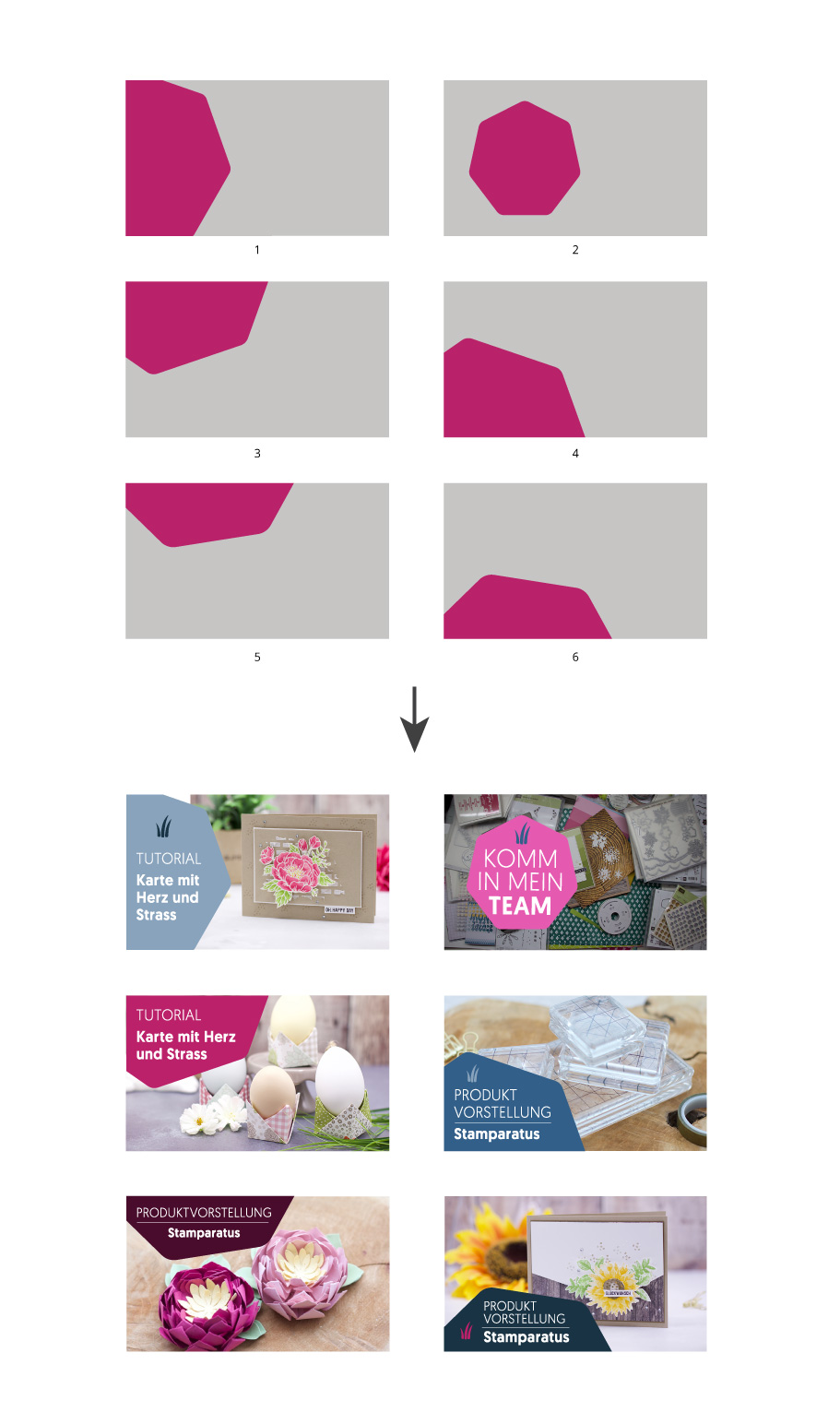 Stampin' Up! Demonstrator Youtube Template