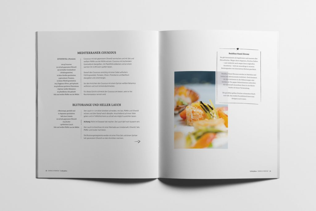 Cookbook Design Page 8