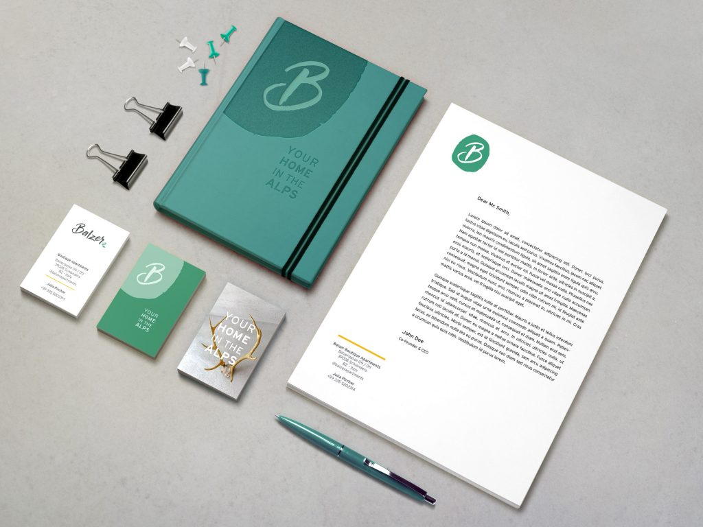 Apartment Rental Corporate Identity